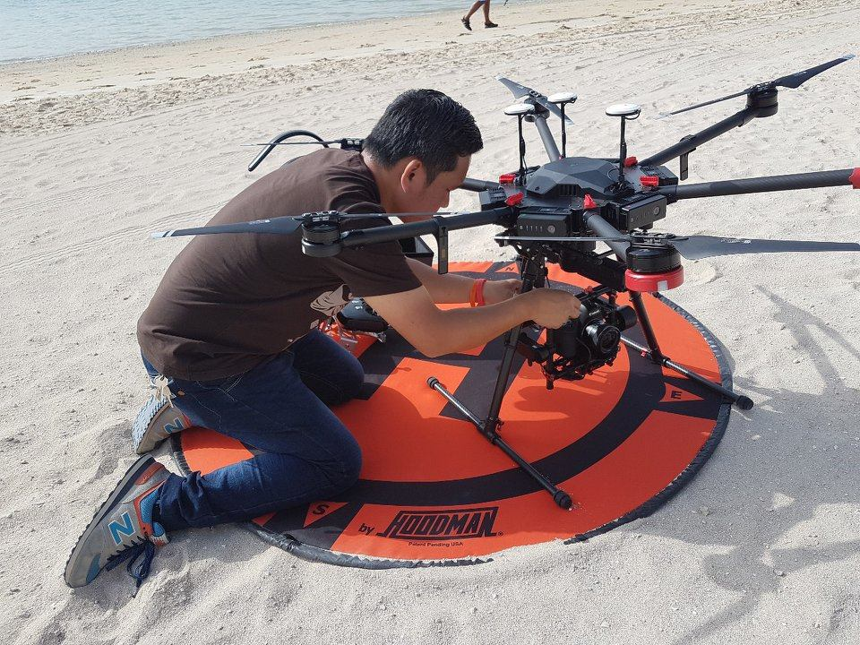 Permissions for Aerial Shoots in Dubai