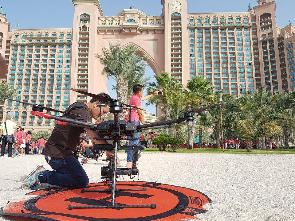 Laws for Aerial Shoots in Dubai